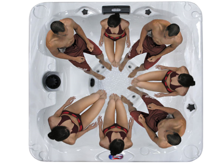 Image of American Spa AM730BS-1 (6 Person)