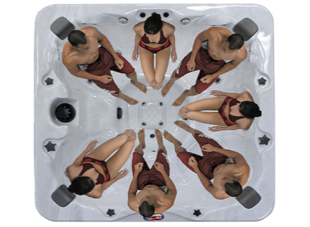 American Spa AM756BS (6 Person)
