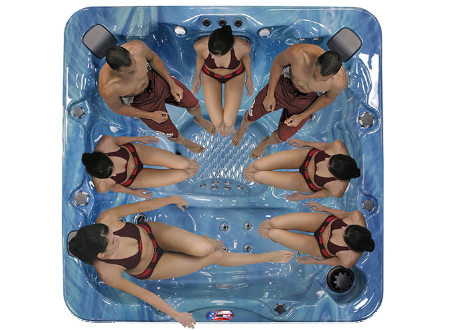 American Spa AM756L-2 (5-6 Person)