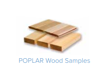 American Poplar Wood - For Saunacore Horizon Purity Saunas