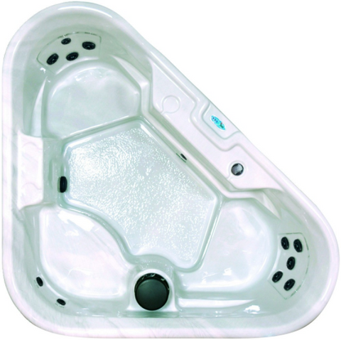 Image of QCA Spa - Star Series - Riviera 3 Person Hot Tub