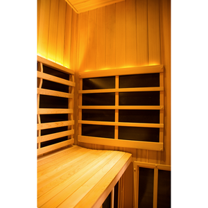 Clearlight Sanctuary 2: Full Spectrum 2 Person Infrared Sauna (77