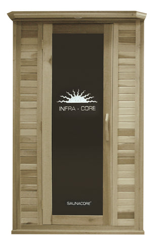 Image of Saunacore Horizon Purity Series 2 Person Infrared Sauna (HR 4X4)