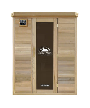 Saunacore Horizon Purity Series 3 Person Infrared Sauna (HR4X5)
