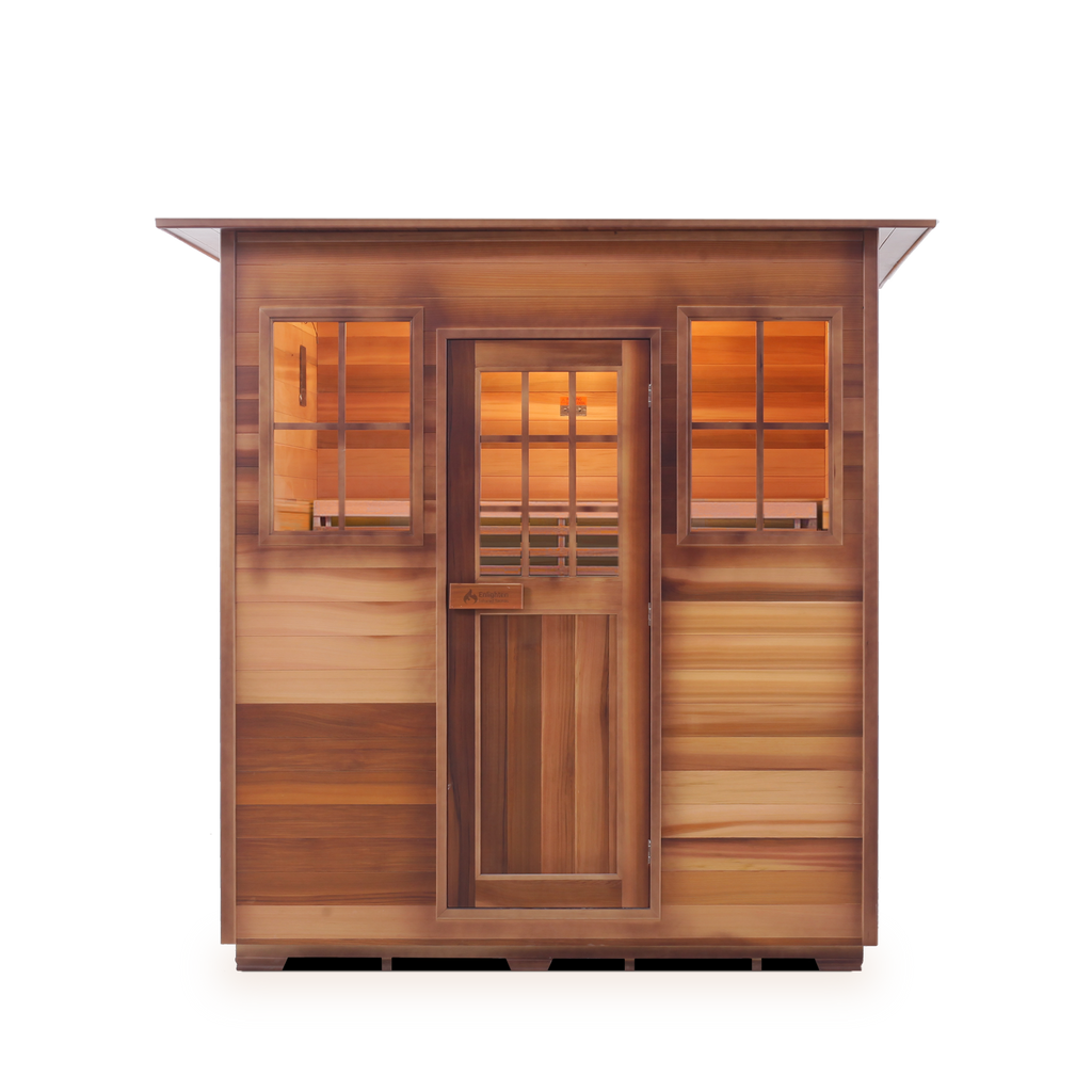 Enlighten MoonLight - 5 Person Indoor Traditional Sauna