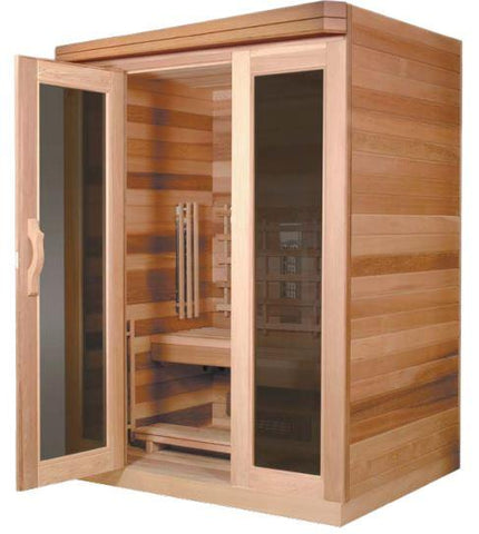 Image of Saunacore Infracore Premium Series 3 Person Infrared Sauna (PR 4X6)