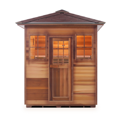Enlighten MoonLight - 4 Person Indoor Traditional Sauna