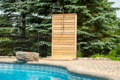 Canadian Timber Savannah Standing Shower CTC205