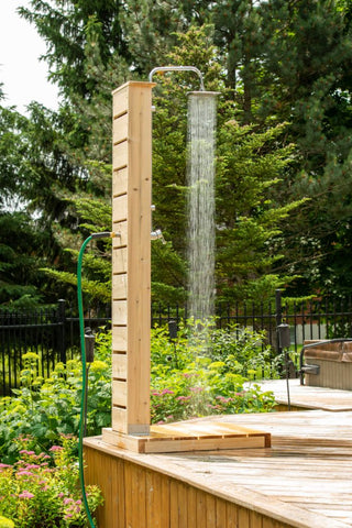 Image of Canadian Timber Sierra Pillar Shower CTC 105