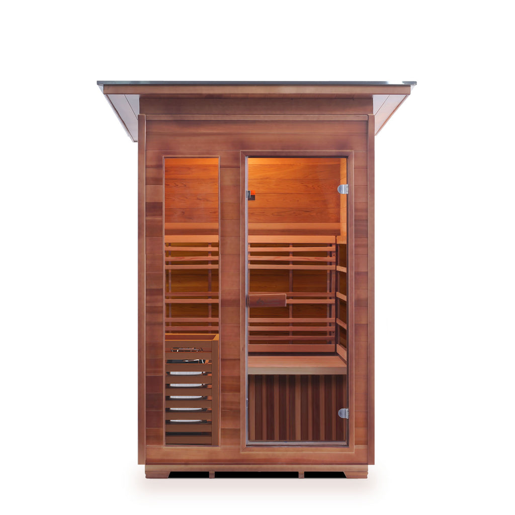 Enlighten SunRise - 2 Person Outdoor/Indoor Traditional Sauna
