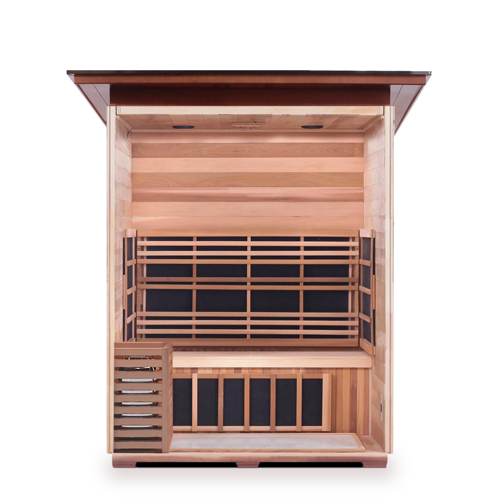 Enlighten SAPPHIRE - 3 Person Outdoor/Indoor Hybrid Sauna