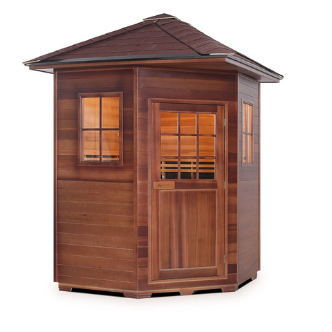 Image of Enlighten SAPPHIRE - 4C Person Outdoor/Indoor Hybrid Sauna