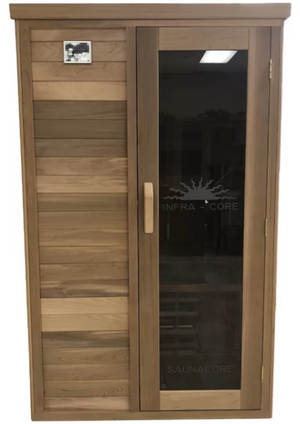 SaunaCore Econo- The best 2 person infrared sauna + North America manufactured