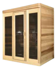 Saunacore Infracore Premium Series 3 Person Infrared Sauna (PR 4X5)