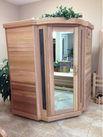 Image of Saunacore Infracore Premium Series 4 Person Infrared Sauna (PR 5X5 Corner)