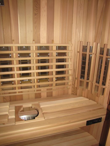 Image of Saunacore Infracore Max Series 3 Person Infrared Sauna (SDTX6 - 4X6)