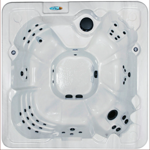 QCA Spas - Star Series - Tranquility 8 Person Hot Tub Non-Lounger