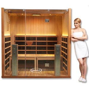 Clearlight Sanctuary Y- 4 Person Full Spectrum Infrared Sauna and Hot Yoga Room