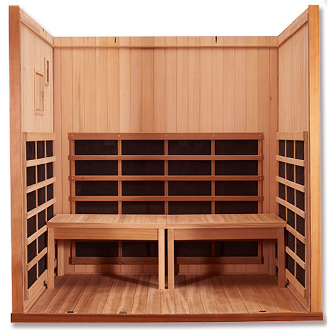 Clearlight Sanctuary Y- 4 Person Full Spectrum Infrared Sauna and Hot Yoga Room - USA Health and Wellness-- Manzo Pelletier Holdings LLC