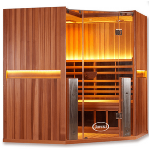 Clearlight Sanctuary C: 4 Person Infrared Corner Sauna (77