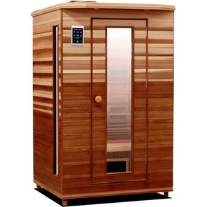 Health Mate Enrich 2 for Outdoors - 2 Person outdoor Infrared Sauna