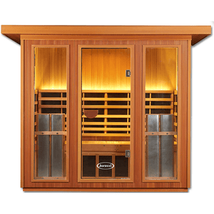 Clearlight Sanctuary Outdoor 5: 4-5 Person Outdoor Full Spectrum Infrared Sauna (80