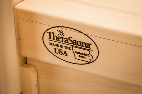 TheraSauna TS4746 1-2 Person Made in USA Infrared Sauna- FREE WHITE GLOVE