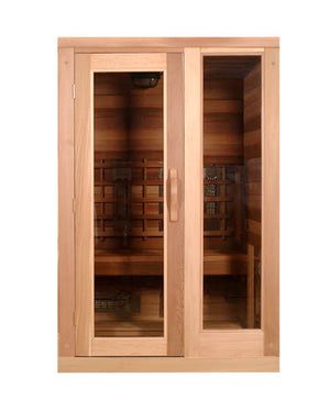 Saunacore Infracore Premium Series 2 Person Infrared Sauna (PR 4X4)