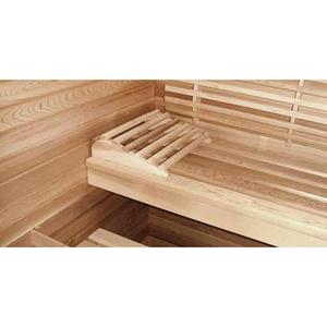 Image of Saunacore Traditional Bay Model Series 3 Person Traditional Sauna (B4X7)