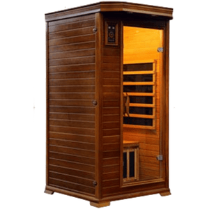 Vital Health 1- Person Full Spectrum Elite Sauna (Canadian Red Cedar)