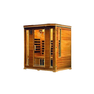 Vital Health Elite (Canadian Red Cedar) Full Spectrum 5 Person Sauna