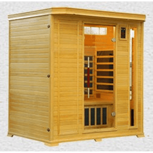 Vital Health Premier (Hemlock) Full Spectrum 5 Person Sauna