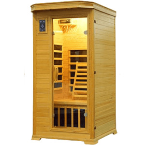 Vital Health Premier (Hemlock) Far Infrared 1 Person Infrared Sauna