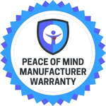 Image of Peace of Mind Manufacturer Warranty