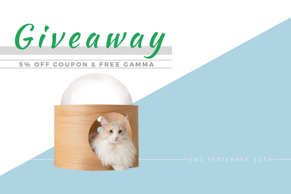 Giveaway event of winning a free spaceship Gamma held by Myzoo ends September 30th.