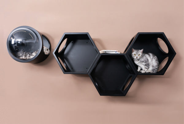 Bundle Sale A: Wall Mounted Cat Shelves,Cat Bed