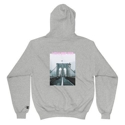 Grey Delilah Wolf Pack New York Hoodie