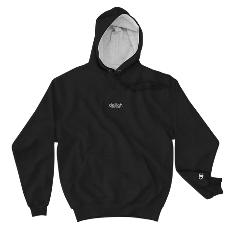 black Champion X Delilah Wolf Pack Hoodie