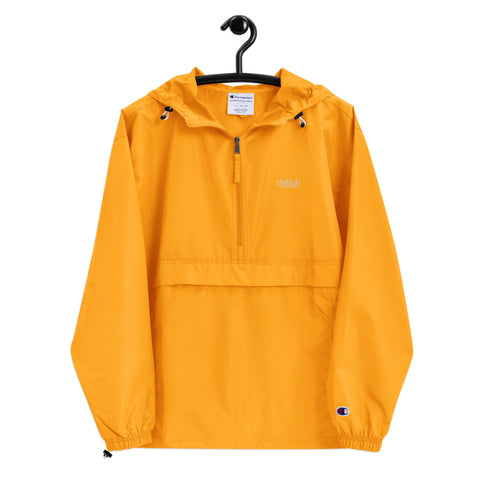 yellow Embroidered Champion X Delilah Jacket