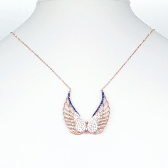 Wing Butterfly Necklace Necklace - Harrem Jewelry