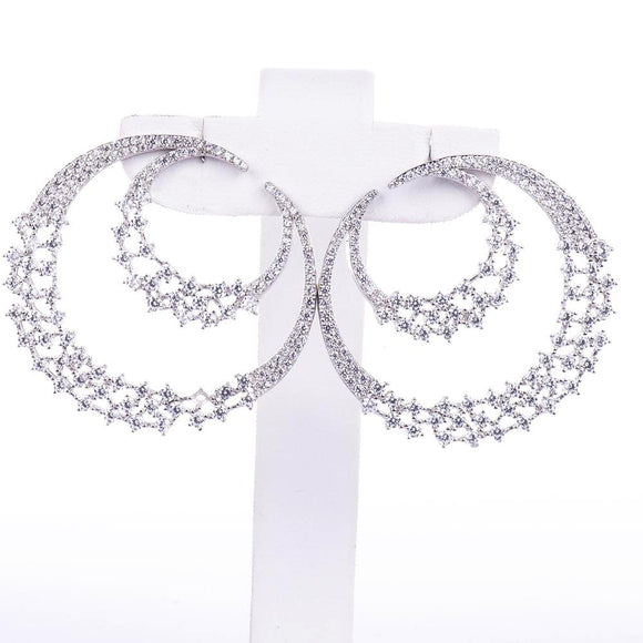 Stylish Circle Earring Earring - Harrem Jewelry