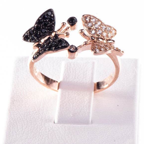 Ivy Butterfly Ring Ring - Harrem Jewelry