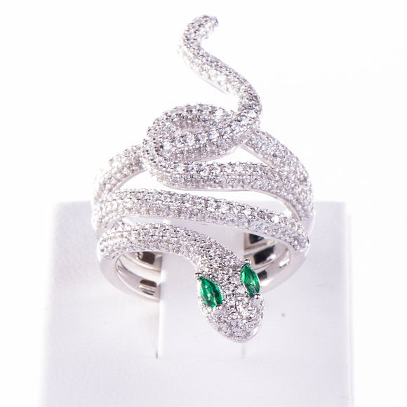 Snake Ring Ring - Harrem Jewelry