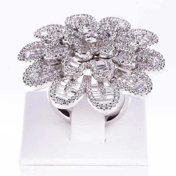 Flower Ring Ring - Harrem Jewelry