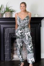 Load image into Gallery viewer, Palm Leaf Jumpsuit