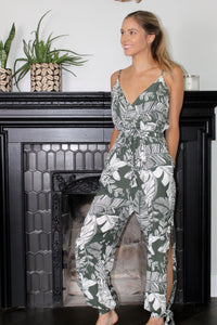 Palm Leaf Jumpsuit