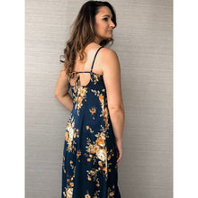 Load image into Gallery viewer, Midnight Floral Maxi Dress - Dress