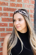 Load image into Gallery viewer, Snake Print Soft Headband
