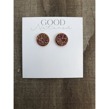 Load image into Gallery viewer, Champagne Druzy Earrings - Earrings