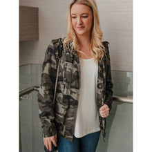 Load image into Gallery viewer, Soho Hideaway Camo Jacket - Jacket